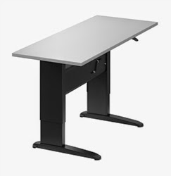 Rectangular Ergonomic Desk