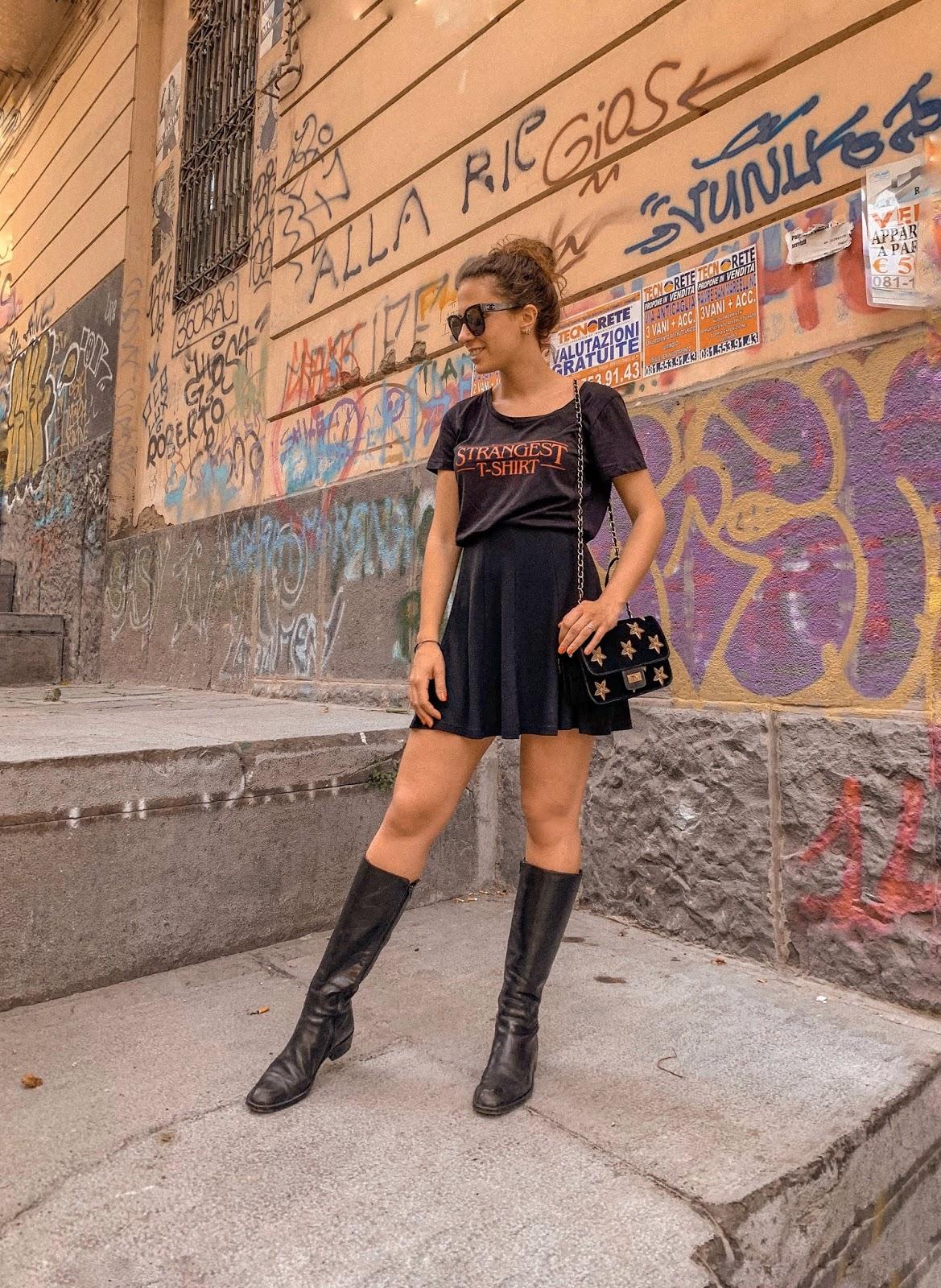 come abbinare una t shirt due idee outfit, come abbinare maglietta bianca, fashion Need, Valentina Rago, Pac design