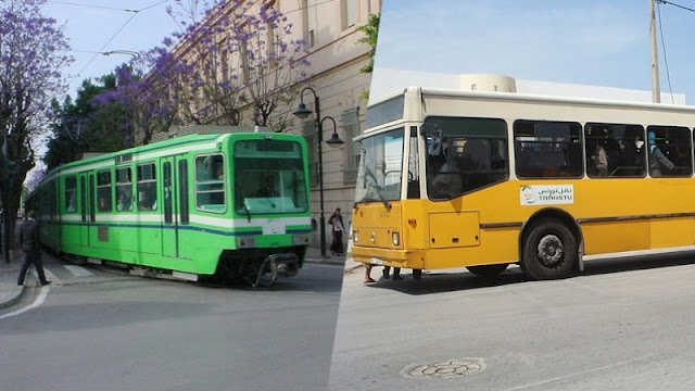 لا حافلات ولا مترو : غدا تونس بدون نقل عمومي
