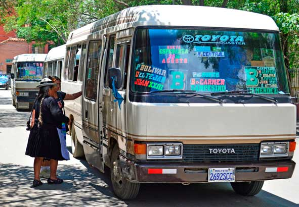 Desde el 8 de diciembre el pasaje en micro en Tarija costará 2 bs