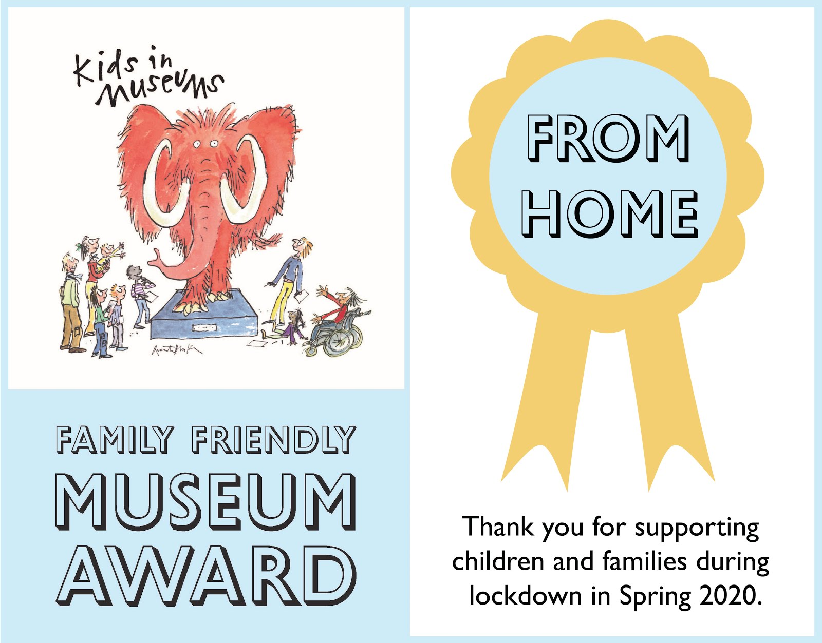 Kids in Museums nominated