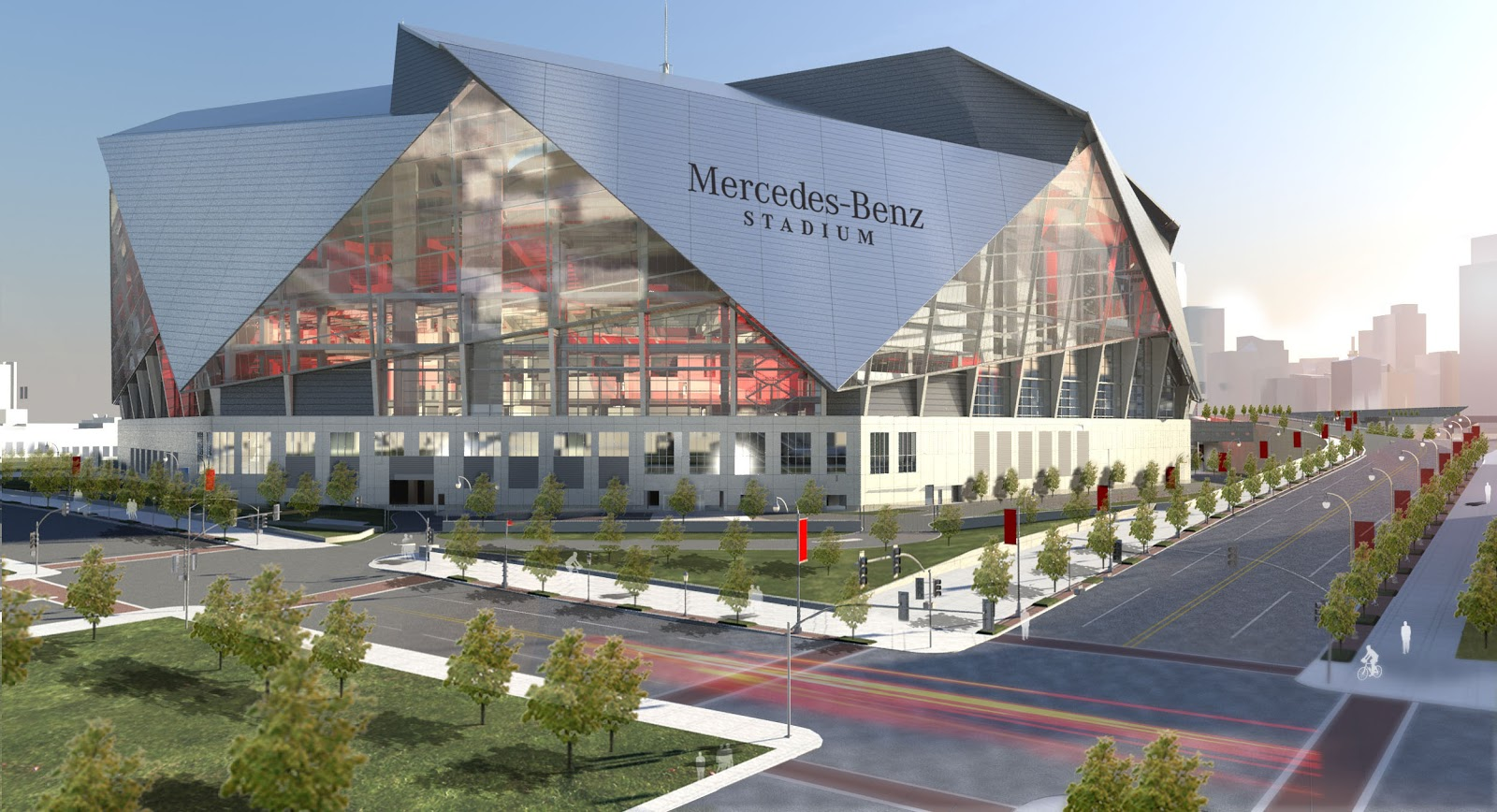 Insane Mercedes-Benz Stadium Revealed - Footy Headlines
