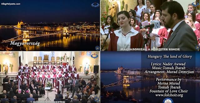 Ilyen csodálatosan gyönyörű dalt még nem írtak Magyarországról, mint most a jordániai keresztények hálájuk jeléül