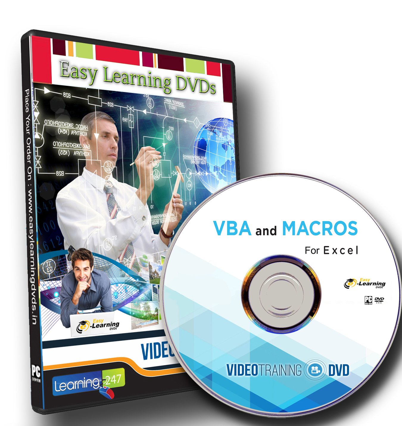 Buy Learn Vba And Macros For Ms Excel Video Tutorial Dvd