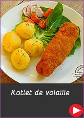 Kotlet de volaille dewolaj de wolay przepis na idealnego kotleta na ciepło na przyjęcie imprezę catering Pszczyna dania obiadowe