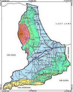 Peta Wilayah ~ Desa Purwokerto Kecamatan Kayen