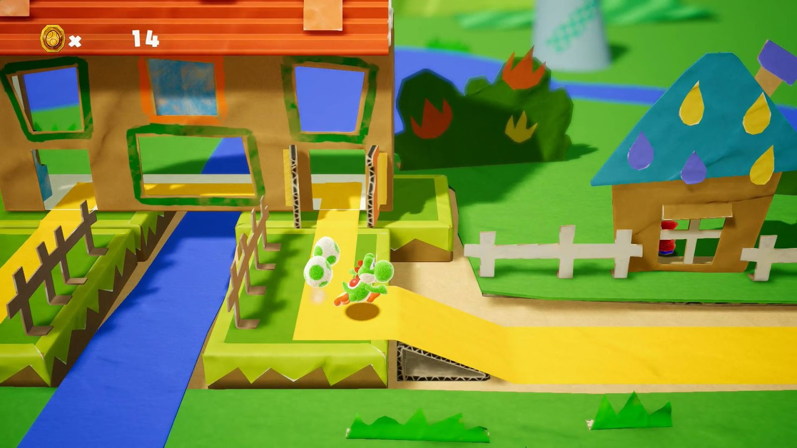 Review Yoshi S Crafted World Nintendo Switch Digitally Downloaded