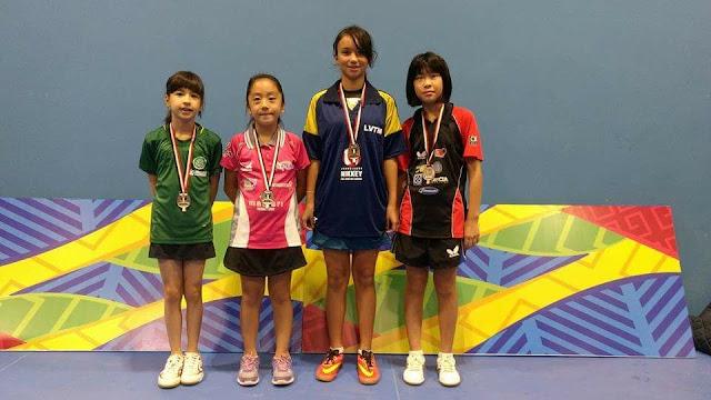 Registrense Karina Shiray conquista 3ª colocação na 1ª etapa do Ranking Paulista de Tênis de Mesa
