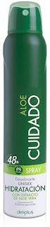 Desodorante Mercadona Deliplus Aloe Vera Cuidado review INCI
