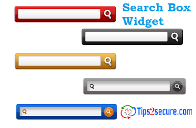 html code to add search box bar