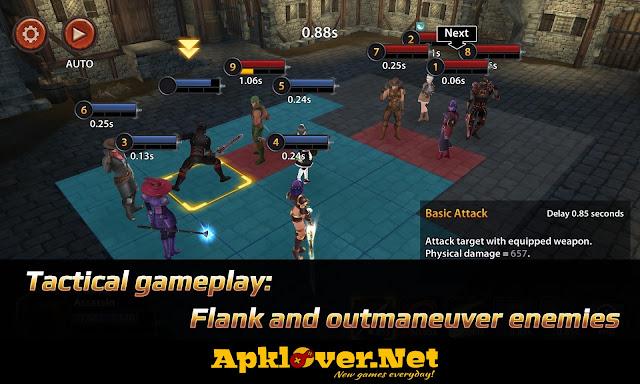 Chrono Clash MOD APK high damage