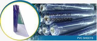 Cung Cấp Màng Nhựa Dẻo PVC Trong Suốt - 252512