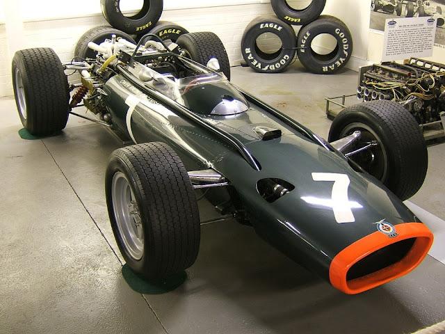 BRM H16 1960s classic GP car
