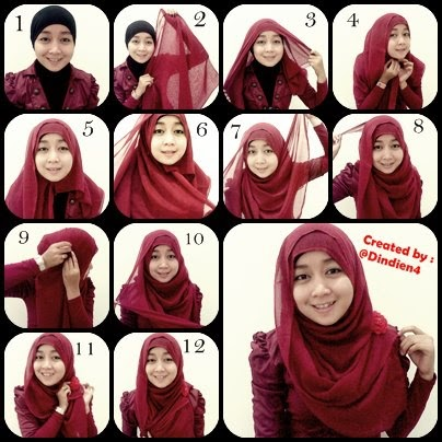 Best And Easy Hijab Tutorial & Tips - Style Hunt World