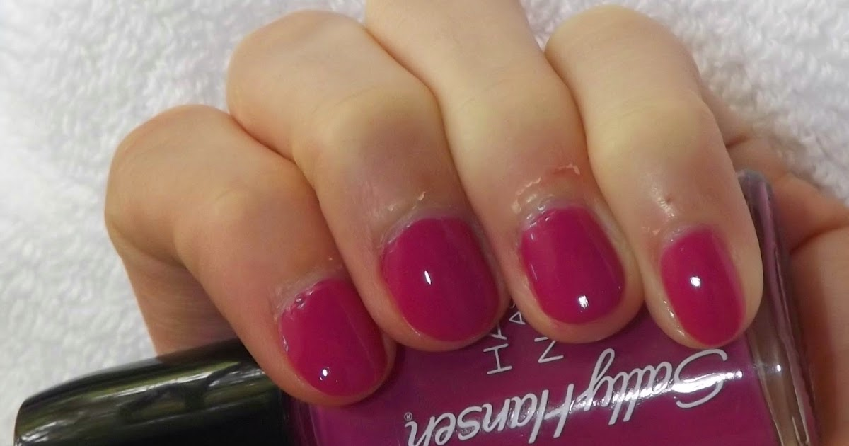 "Perfectly Polished 12: Perfectly Polished 12: Sally Hansen Hard As Nails ""Firm Fig"""