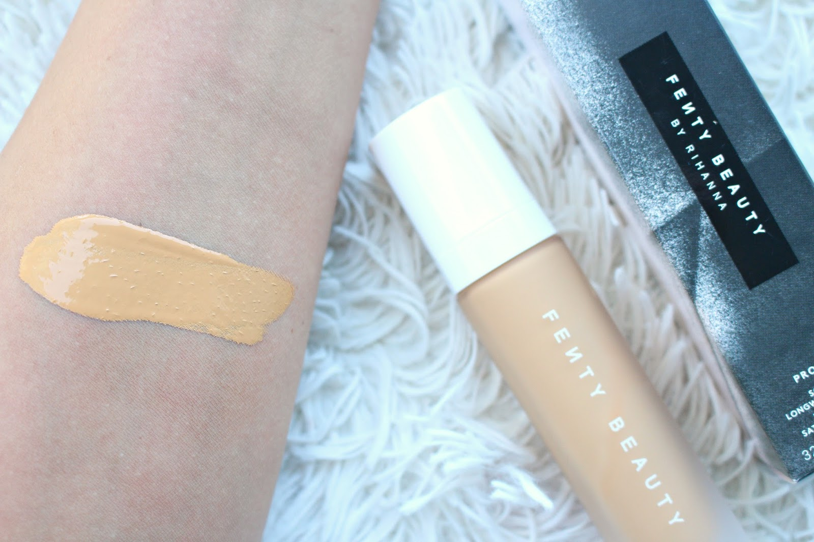 Fenty Beauty Foundation Shade Comparisons