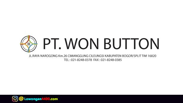 Lowongan Kerja Operator PT. Won Button Januari 2018