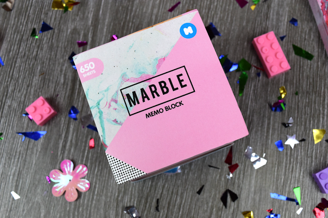 Marble stationery