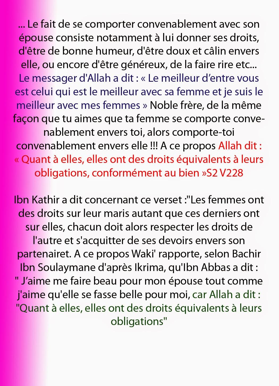 Citation Islam Femme