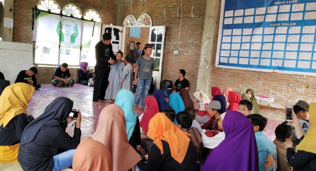 Bersama Hipmus Torut, BNNK Tana Toraja Edukasi Anak Panti Asuhan Al-Muklisin Sudu