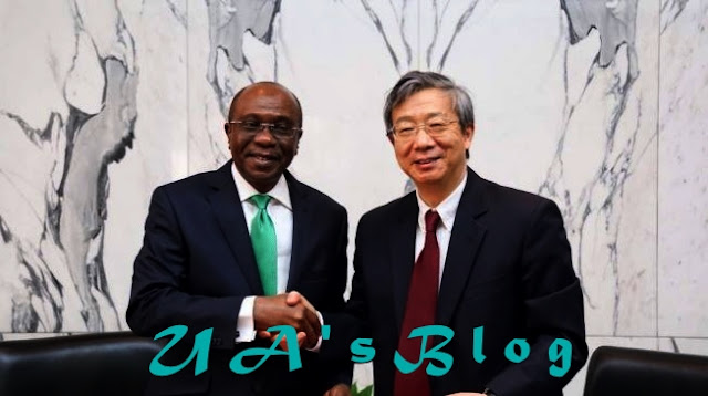 CBN signs $2.5bn currency swap agreement with China
