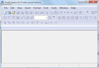 cara membuat font sendiri dengan font-creator