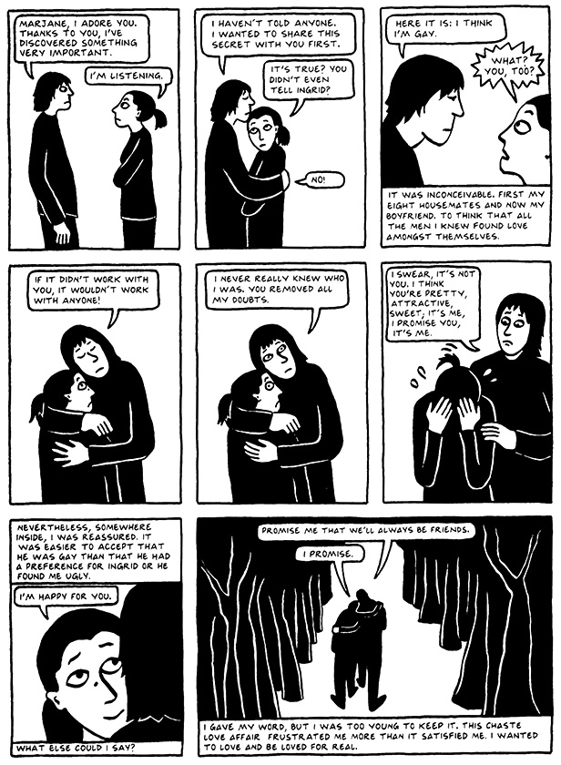 Read Chapter 7 - Hide and Seek, page 60, from Marjane Satrapi's Persepolis 2 - The Story of a Return