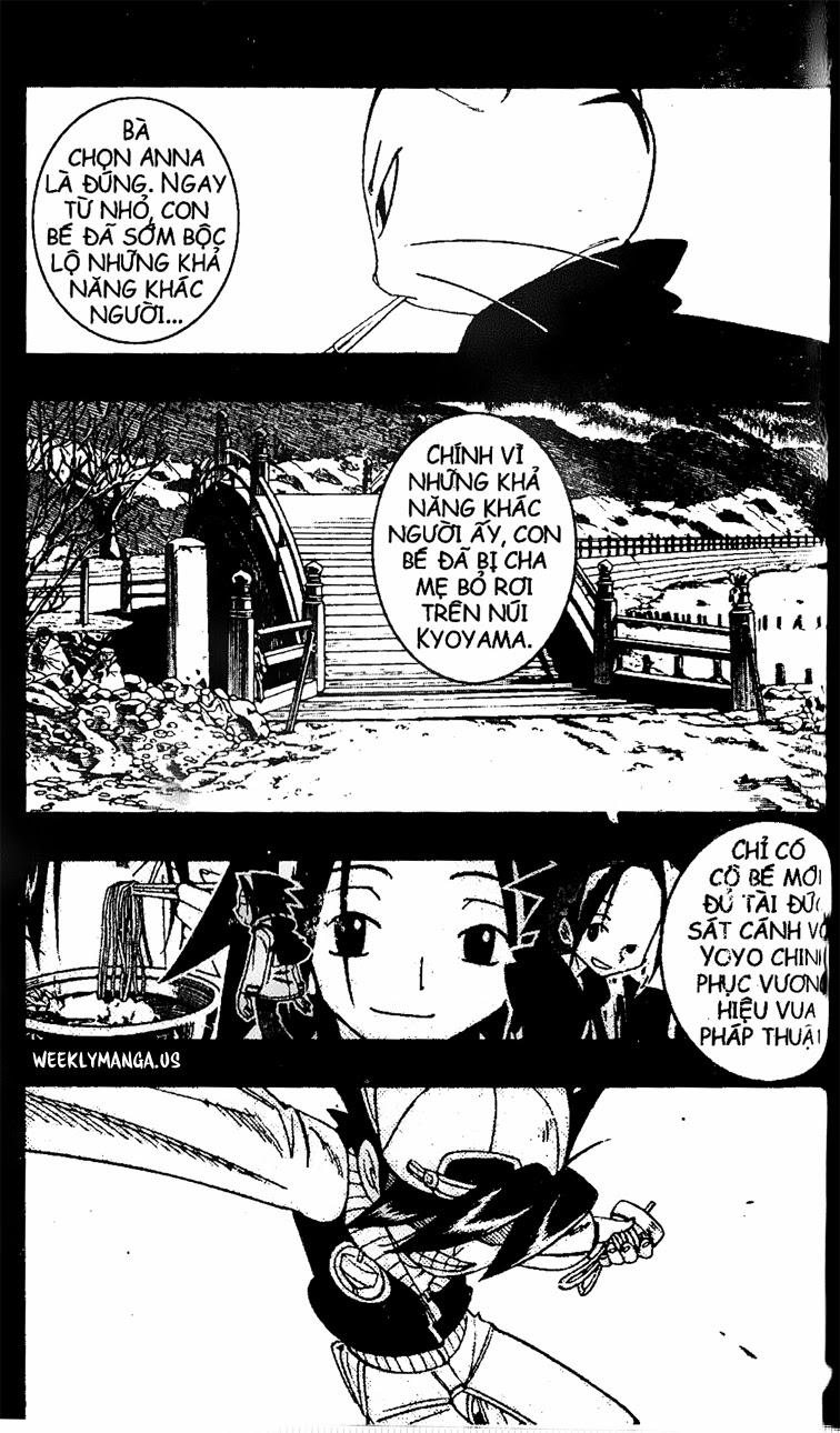 Shaman King [Vua pháp thuật] chap 170 trang 2
