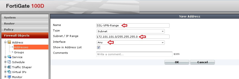 Basic IT Informations: Fortigate - How to Configure SSL-VPN