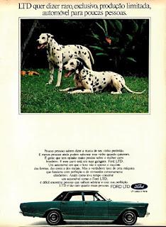 propaganda Ford LTD - 1974, Ford Willys anos 70, carro antigo Ford, década de 70, anos 70, Oswaldo Hernandez,