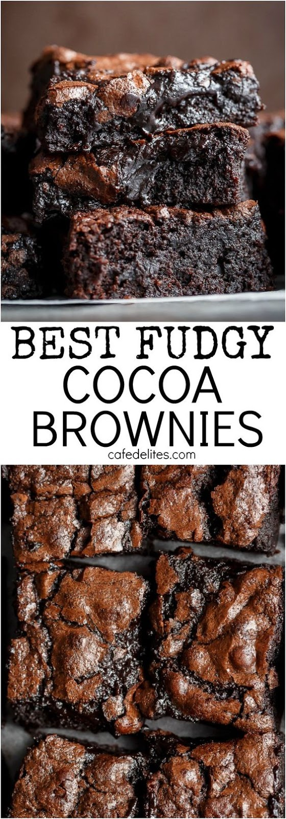 Best Fudgy Cocoa Browníes