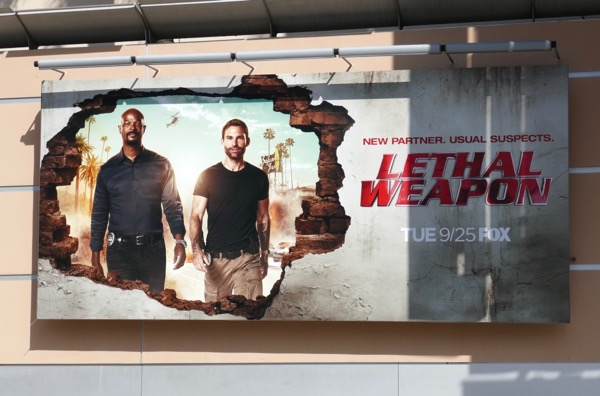 Lethal Weapon season 3 billboard
