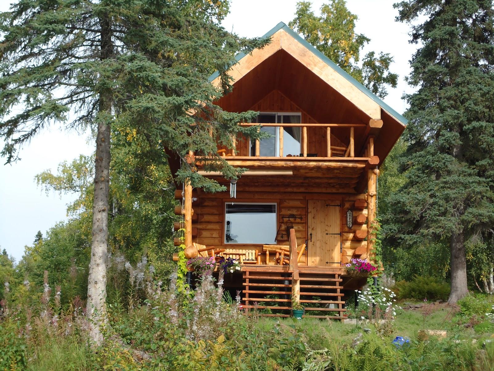 Alaska Bush Life Off Road Off Grid Building A Log Cabin