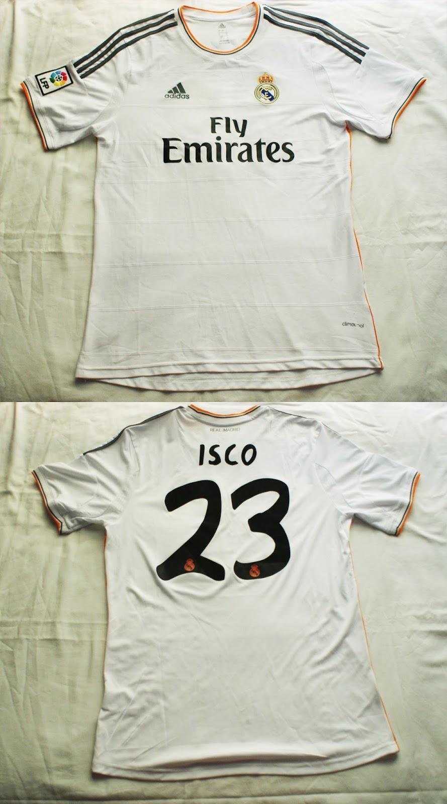 1º Camiseta Real Madrid Club de Fútbol 2013 2014 15acec5ba830f