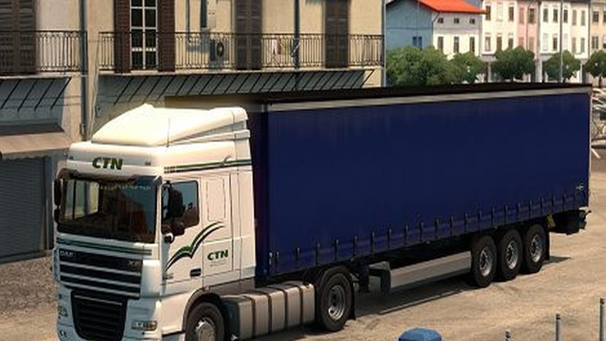DAF XF CTN Transport Skin v 2.0
