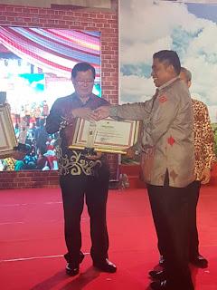 Muratara Terima Penghargaan Presiden Sebagai DOB Berkinerja Terbaik