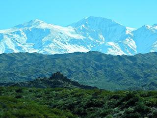 Três Paisagens nos Andes, Mendoza