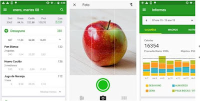 App contador calorías FatSecret