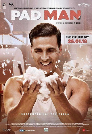 Padman 2018 Full Hindi Movie Download 1GB HDRip 720p