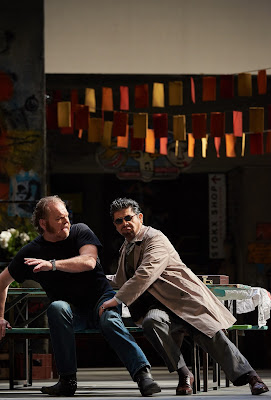 Verdi: Falstaff - Michael Volle, Alfredo Daza   - Staatsoper Berlin (Photo: Matthias Baus)