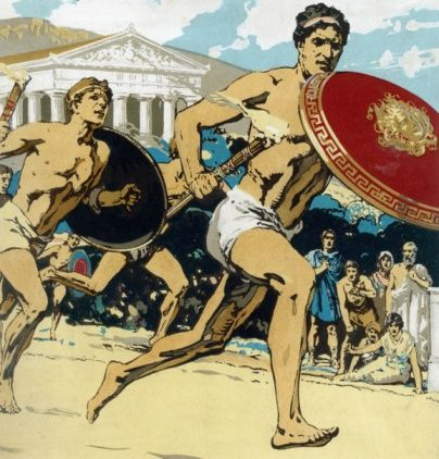 Ancient Greek Olympic Athletes