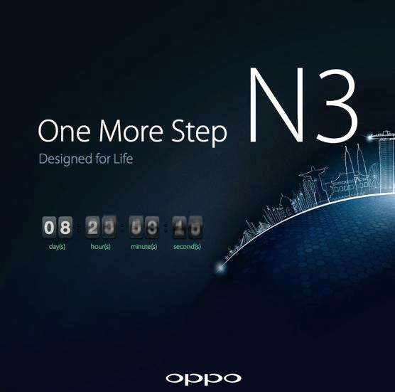 Oppo N3 Will Be Unveiled This Coming October 29