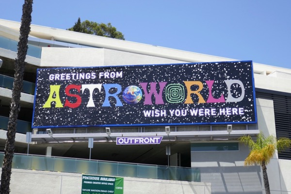 Travis Scott Astroworld billboard