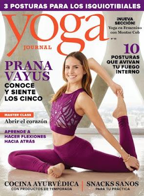 Revista Yoga Journal España Noviembre/Diciembre 2017