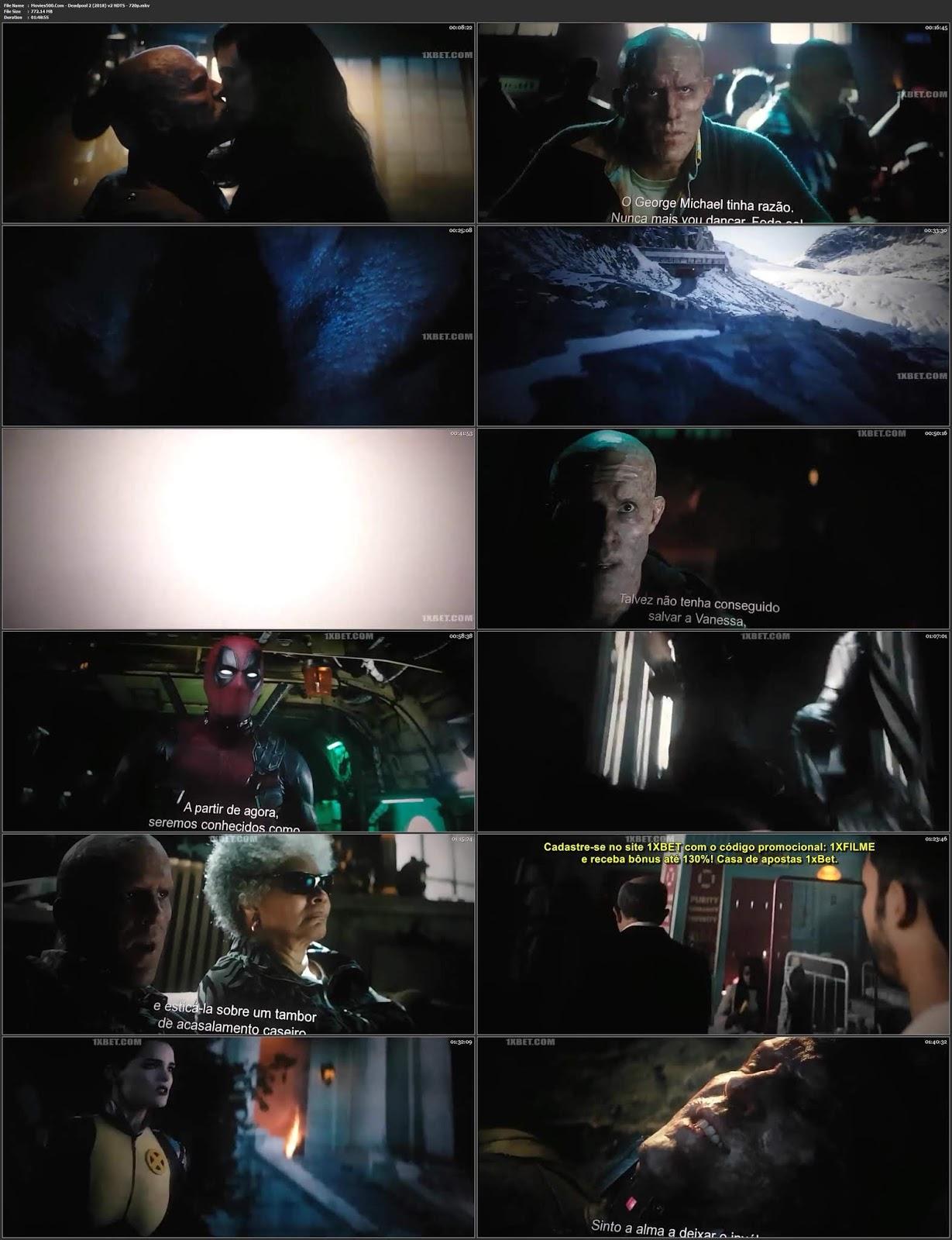 Deadpool2 2018 Hindi Dubbed 300MB V2 HDTS 480p