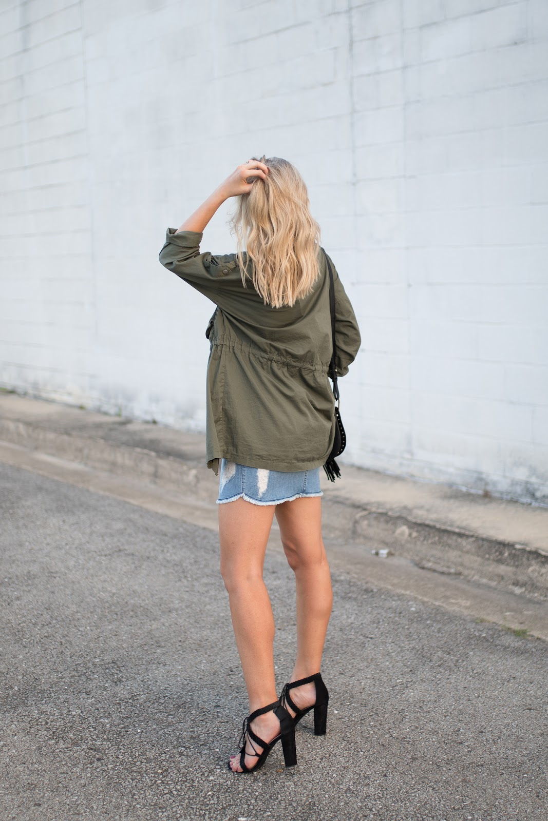 Summer-to-fall transition outfit