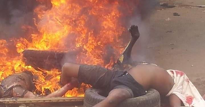 Jungle Justice In Akokwa Imo State Nigeria