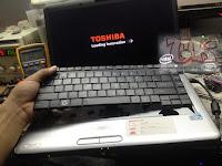 Turtorial Service Laptop Toshiba L510 Tidak Mau On Saat Pakai Keyboard
