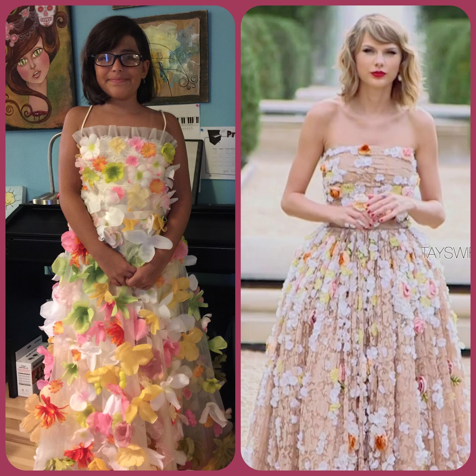 "edenfolwell: Taylor Swift ""Blank Space"" Video dress"