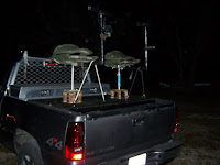 high rack on a pickup bed, basically a chair elevated above cab height to shoot from